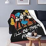 Friends Series Manta Tv Accesorios Impreso Suave Felpa Fleece Manta Friends Goodies Family Sofá Manta Office Break Bed Manta 50 X 60 Inches