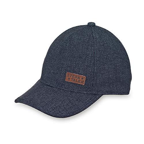 Sterntaler Baby-Jungen Baseball-Cap Baseballkappe, Marine, 55