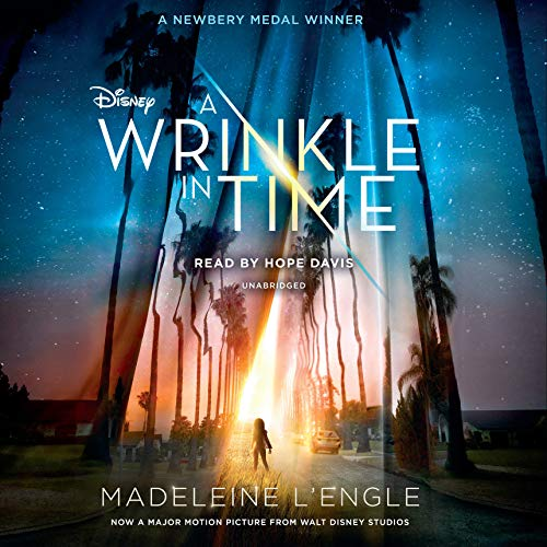 A Wrinkle in Time audiobook cover art