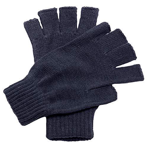 Regatta - Guantes sin dedos/Mitones Modelo Fingerless Unisex Hombre Caballero (Talla Única) (Azul marino)