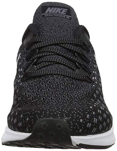 Nike Men's Air Zoom Pegasus 35 Running Shoe, Black/White/Gunsmoke/Oil Grey, 8.5 2