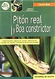 Pitón real y boa constrictor (Animales)