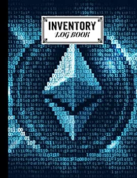 Inventory Log Book  ethereum Cover inventory list notebook Large Inventory Log Book - 120 Pages Size 8.5  x 11  for Business and Home by Daniel Lloyd