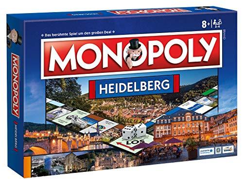 Winning Moves Monopoly Heidelberg Stadt City Edition Ausgabe Spiel Gesellschaftsspiel Brettspiel