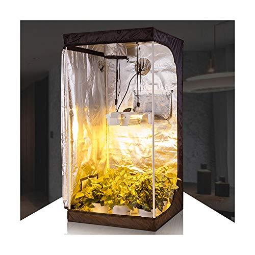 Imagen del productoWWZL 600D Armario Cultivo para Hidropónico Interior Tienda de Campaña de Crecer Plantas Invernadero Grow Box de Cultivo para Jardín Plantar Flores, Frutas, Verduras en Invierno,80×80×160cm