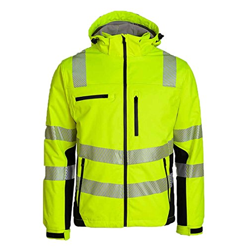 ASATEX Prevent Trendline Softshelljacke PTW-SP, gelb/schwarz, Gr. XL