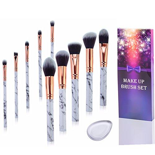 Fashion Base Make-up-Pinsel für Puder, Lidschatten, Rouge, Concealer, Eyeliner, Lippenpinsel, flach, Kabuki, Foundation-Pinsel, Gesichtspinsel