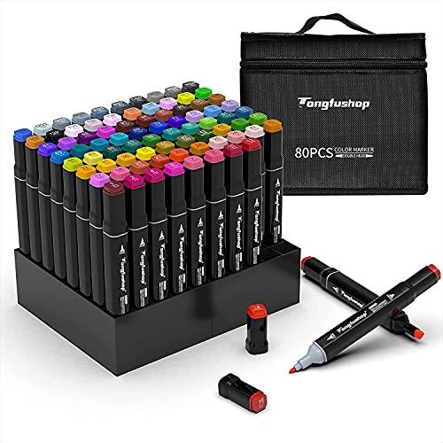 TongfuShop -   80 Farbige Marker