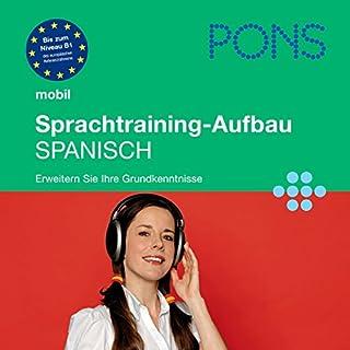 PONS mobil Sprachtraining - Aufbau Spanisch Titelbild