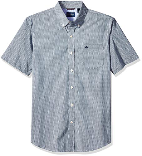 dockers Comfort Stretch No Wrinkle Short Sleeve Button Front Shirt Sudadera para Hombre