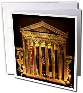 3dRose Art Museum Philadelphia - Greeting Cards, 6 x 6 inches, set of 6 (gc_55953_1)