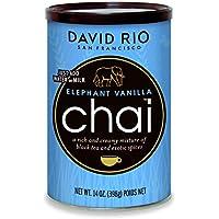 David Rio Chai Mix, Elephant Vanilla, 14 Ounce / 398g - instantánea té Chai