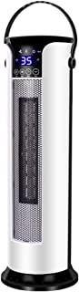 GXDHOME Calefactores Calefactor de Control Remoto, calefacción de hogar y refrigeración Calefactor Vertical de Suelo de Doble Uso, Mini Ahorro de energía