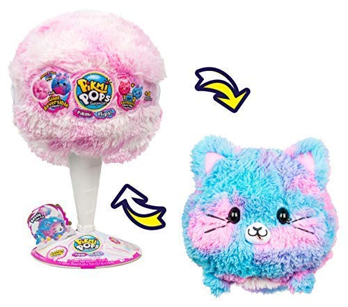 ピクミーポップ サプライズ! 大きい 猫 ぬいぐるみ Pikmi Pops Giant Flips – Kessie The Cat [並行輸入品]