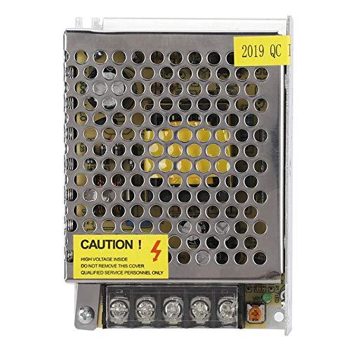 Pwshymi Protección contra Cortocircuitos Caja de Metal Fuente de alimentación Fuente de alimentación conmutada 80% eficiente Reinicio automático después de una Falla de energía para la luz CCTV
