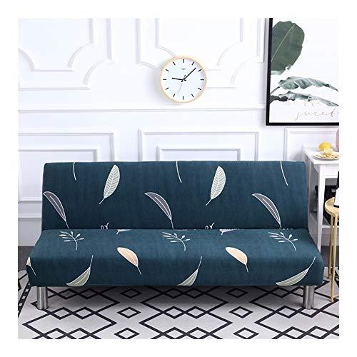 ZXF Housse Canapé Tout Compris Pliant Canapé-lit Couverture Tight Wrap Canapé-Serviettes Accoudoirs Pas Tight Wrap Sofa for Living Room ##1133 (Color : A, Size : M(length150 190cm))