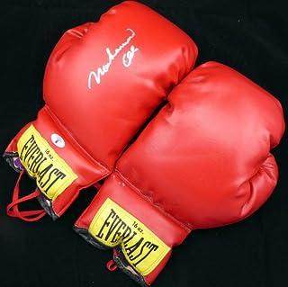 999bd7f9025 Muhammad Ali Signed Everlast Boxing Gloves Glove Vintage Signature -  Beckett Authentication