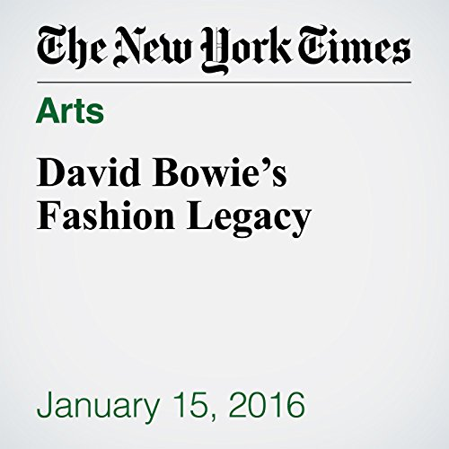 David Bowie's Fashion Legacy cover art