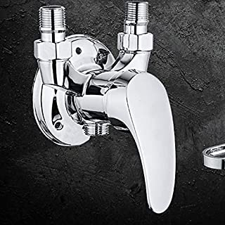 Hlluya Professional Sink Mixer Tap Kitchen Faucet The Bathroom and The Shower Faucet, hot & Cold Water Shower Solar Electric Water Heater Mixed Packaged Water Valve