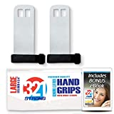321 STRONG Premium Leather Hand Grips for Gymnastics and Crossfit...
