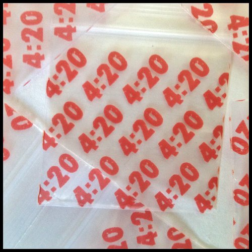 "1000 Mini Ziplock Baggies 2020 Get Real Design Mix Apple Brand High End Quality 2"" X 2"" Photo #5"