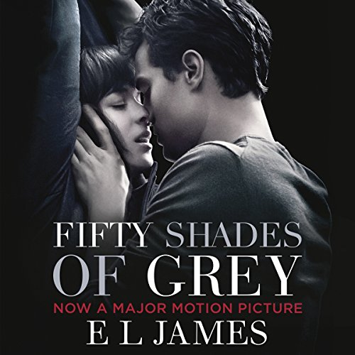 Fifty Shades of Grey audiobook cover art