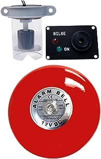 Skippers Bilge High Water Alarm with Loud Bell Bilge Warning, 12 Volt