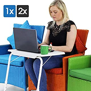 HomeStore-USA TV Tray,Portable Adjustable Folding Table Mate Tv Dinner Laptop Travelling Bed