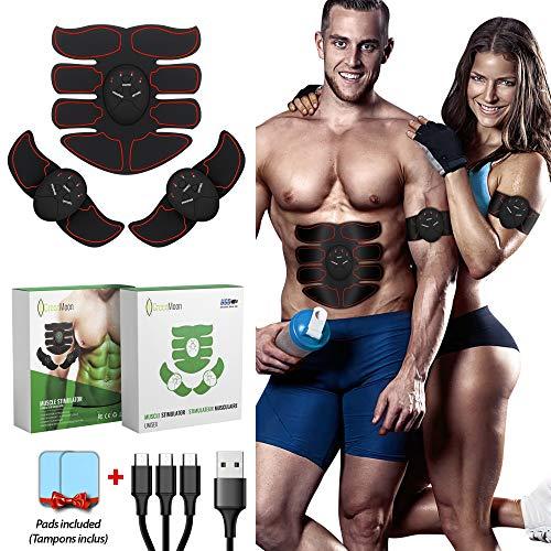 classement un comparer Proposition de démarrage de GreenMoon |  Stimulateur musculaire électrique |  Ceinture abdominale |  Stimulation…