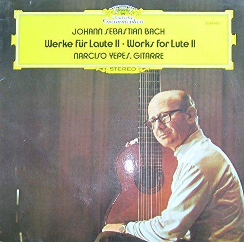 Bach: Werke für Laute II / Works for Lute II [Vinyl LP] [Schallplatte]