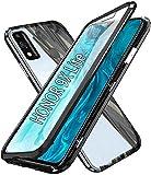 SIMao Coque pour Huawei Honor 9X Lite Cover 360 Degrés Protection Étui[Magnétique Adsorption]...