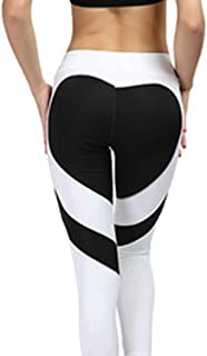 Yoga Pants for Women,Butt Lifting Fitness Leggings Dry Fit Slim Fit Tummy Control Workout Gym Sportwear Tights