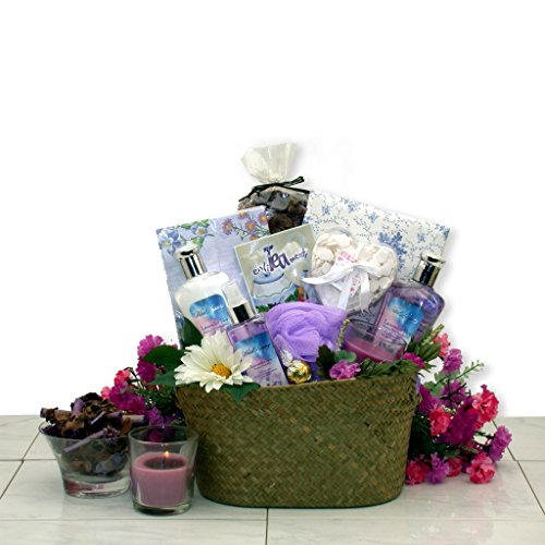 pamper gift baskets Healing Spa Pampering Bath and Body Gift Basket for Her -Mothers Day Gift Idea for Women