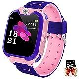 Orologio Intelligente Bambini con 7 Giochi - Musica MP3 Smartwatch Bambini, Orologio Intelligente Bambini con Telefono Allarme Camera, Bambini Smartwatch Regali per Ragazze Ragazzi Bambini, 3-12 Ys