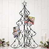 Scorpion Large Tri Fold Christmas Tree Card Holder and Display 31.75 Inch