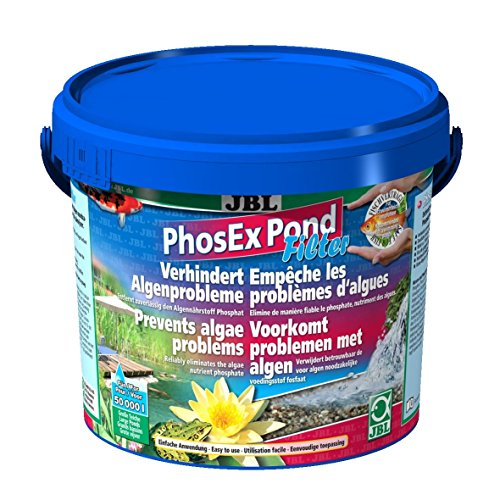 JBL PhosEx Pond Filter 27375 Phosphatentferner für Teichfilter, 2,5 kg