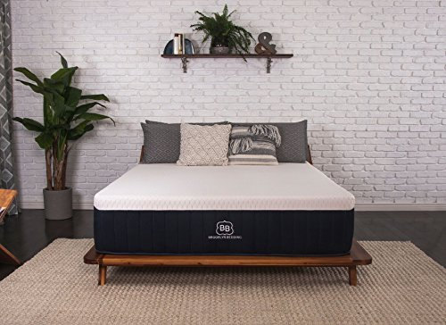 Brooklyn Aurora 13' Luxury Cooling Gel Hybrid Mattress, Queen Firm