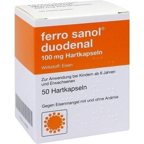 ferro sanol duodenal 100 mg, 50 St Hartkapseln