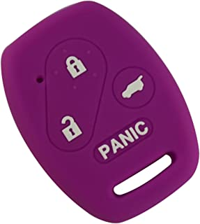 Etbotu Silicone Dedicated Car Key Cover for Honda Accord Anti-skid Dust-proof Key Protector