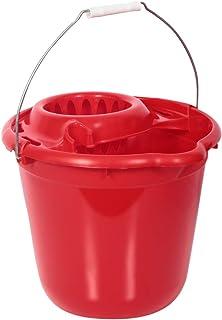 Moonlight Mop Bucket with Wringer - 12 Liters, Red