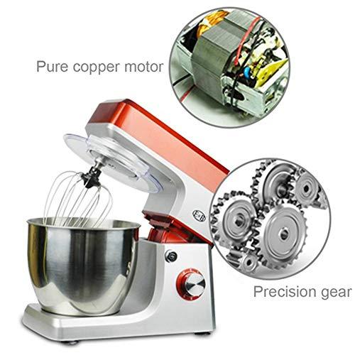 7L Automatische Planetaire Blender 110V Elektrische mixer Eierklopper Kookmachine Cake Brooddeeg Kneder Standmaker Blender 1200W