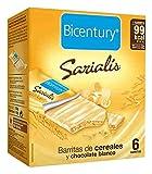Bicentury - Barrita Cereales Y Cacao Chocolate Blanco Sarialís (5 unidades)