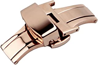 Best rose gold watch clasp Reviews