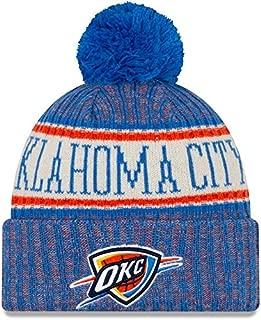 Oklahoma City Thunder 2019 Sideline Sport Knit Winter Pom Knit Hat Cap