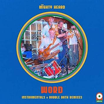 WORD (Instrumentals & Bubble Bath Remixes)