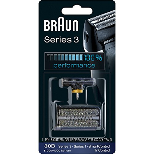 Braun 30B, 7000FC Syncro series screen foil and cutter blade.