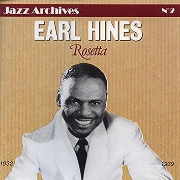 Earl Hines 1932-1939: Rosetta (Jazz Archives No. 2)