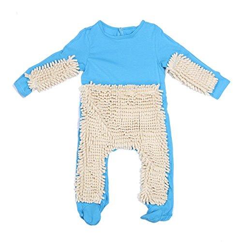 Domybest Abbigliamento Infantile di Cotone Tutina dei Neonati per Strisciare, 2 Colori