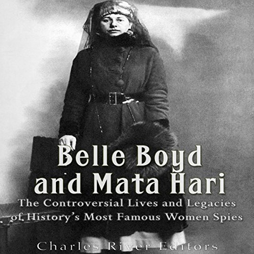 Belle Boyd and Mata Hari audiobook cover art