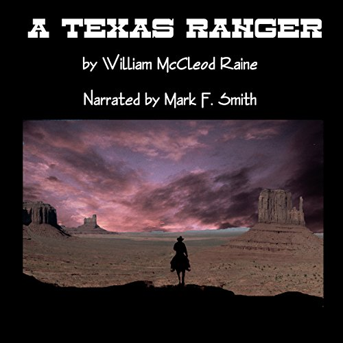 A Texas Ranger audiobook cover art